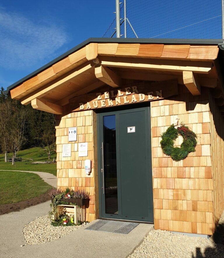 Regionalhütte - Zeller Bauernladen